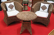 Woven Water Hyacinth Furniture from Indonesia
