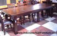 TEAK FURNITURE COFFEE TABLES